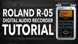 Roland R-05 Tutorial