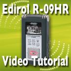 Edirol R-09HR Video Training Tutorial