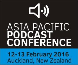 Asia Pacific Podcasting Conference